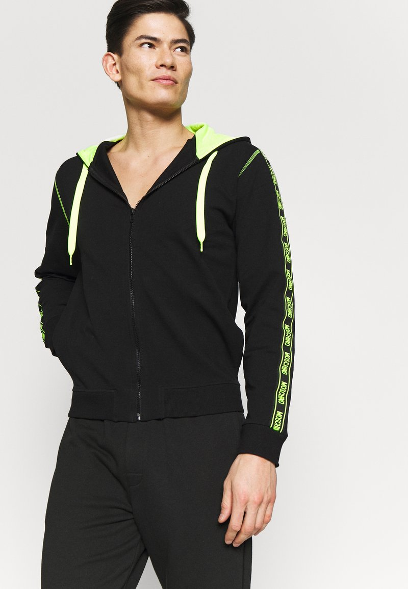 Moschino Underwear - FELPA - Pyžamový top - nero