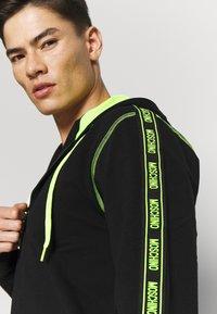 Moschino Underwear - FELPA - Pyžamový top - nero - 4