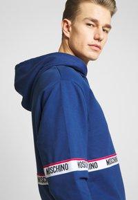 Moschino Underwear - FELPA - Pyžamový top - blu - 5