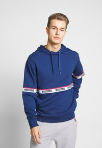 Moschino Underwear - FELPA - Pyžamový top - blu - 0