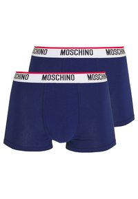 Moschino Underwear - TRUNK 2 PACK - Boxerky - blue - 0