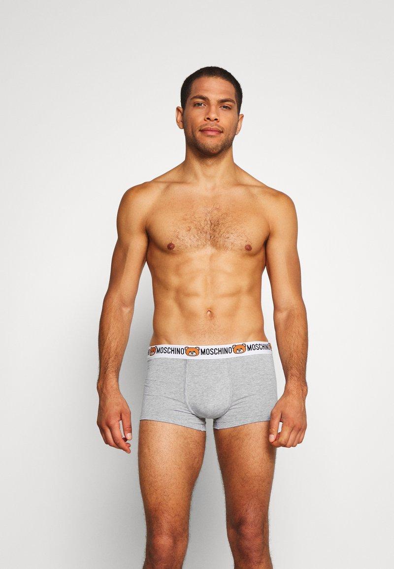 Moschino Underwear - PARIGAMBA  2 PACK - Boxerky - mottled grey