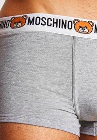 Moschino Underwear - PARIGAMBA  2 PACK - Boxerky - mottled grey - 3