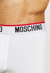 Moschino Underwear - TRUNK 3 PACK - Boxerky - black/white/gray melange - 6