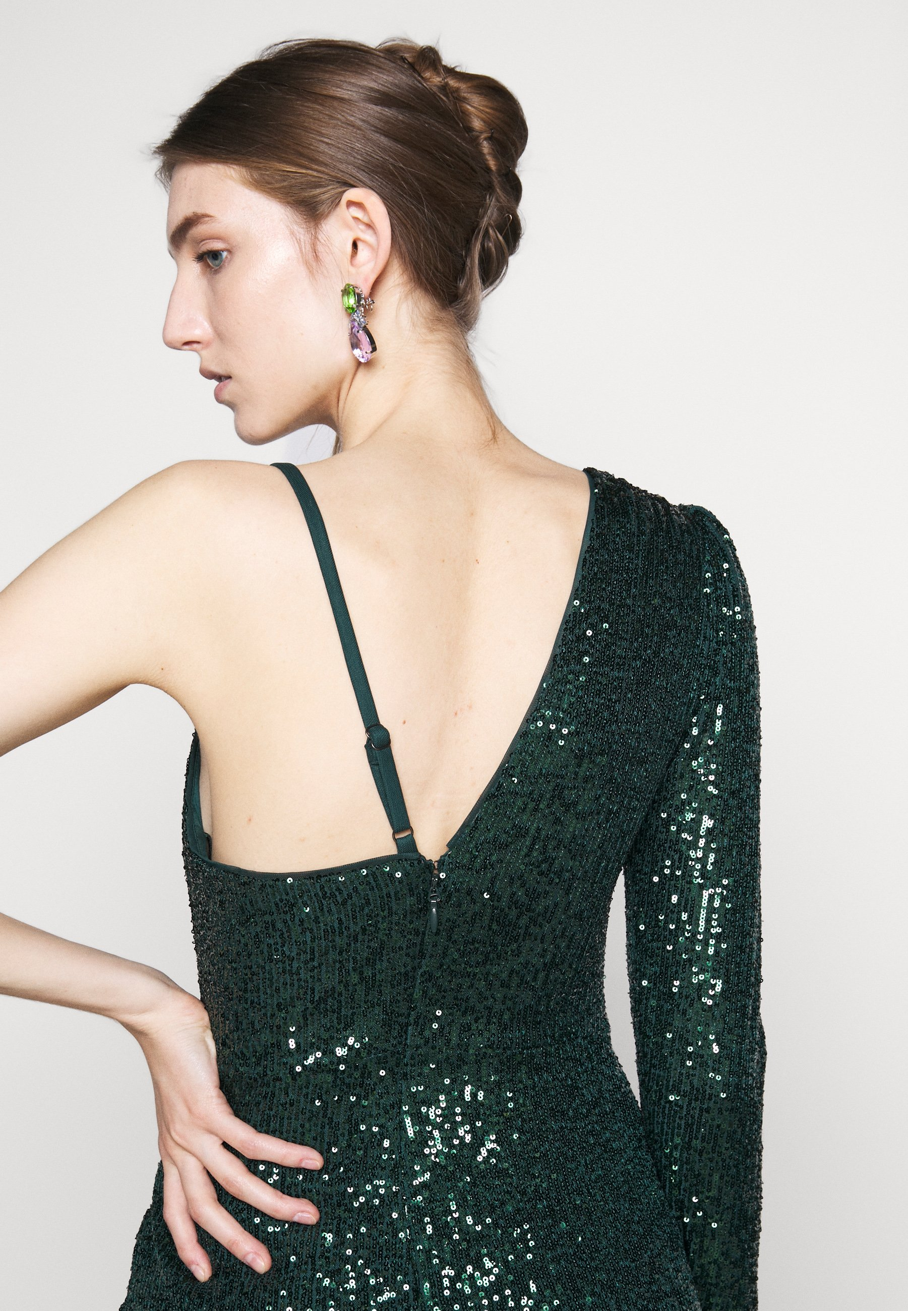BCBGMAXAZRIA EVE LONG DRESS Festklänning vivid fuchsia