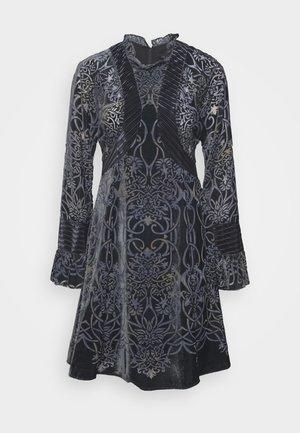 MIDI DRESS - Cocktail dress / Party dress - midnight teal