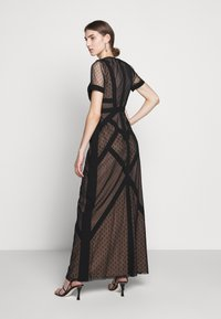 BCBGMAXAZRIA - EVE LONG DRESS - Vestido de fiesta - black - 2