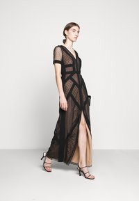 BCBGMAXAZRIA - EVE LONG DRESS - Vestido de fiesta - black - 1