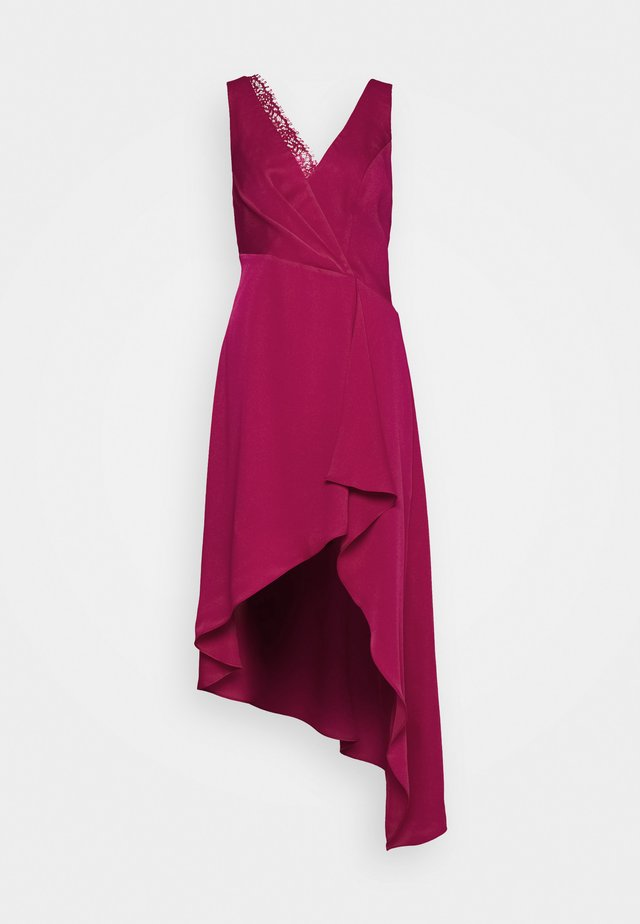 EVE LONG DRESS - Iltapuku - vivid fuchsia