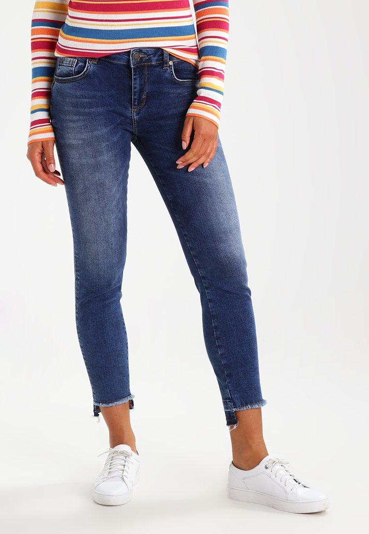 Mos Mosh - SUMNER STEP BLUE - Jeans slim fit - blue denim
