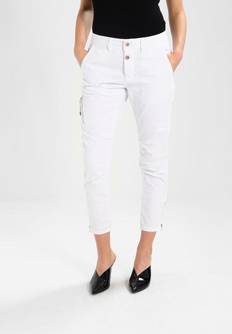 Mos Mosh - VALERINE KATY  - Spodnie materiałowe - white