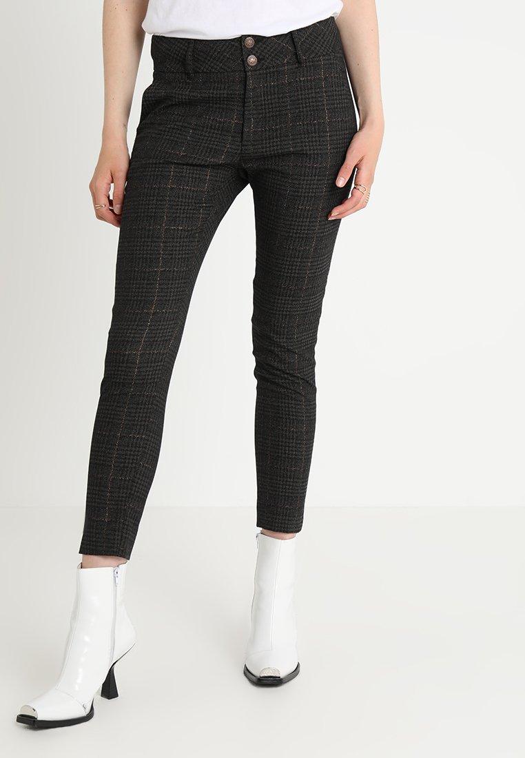 Mos Mosh - TUXEN CHECK PANT - Pantalones - green
