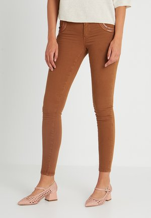 SHINE PANT - Bukser - brown