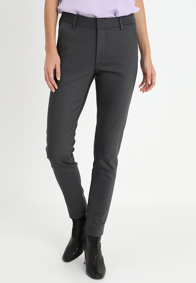 Mos Mosh - ABBEY NIGHT PANT - Stoffhose - grey