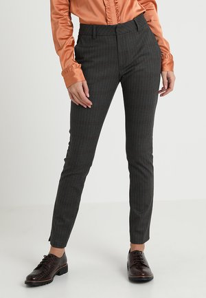 ABBEY PIN PANT - Bukse - grey