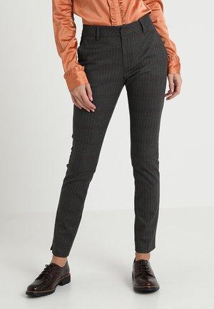 ABBEY PIN PANT - Kalhoty - grey