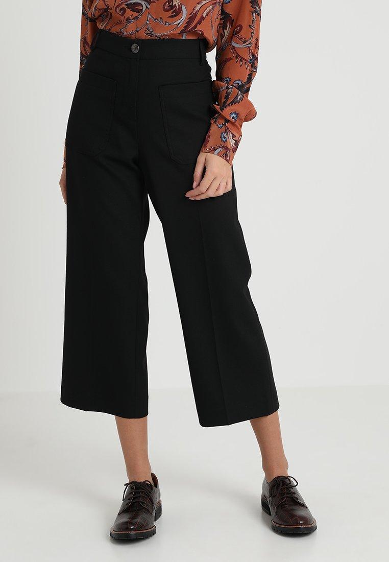 Mos Mosh - VANESSA PANT - Kalhoty - black