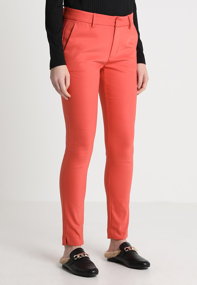 Mos Mosh - ABBEY NIGHT PANT - Trousers - rio red