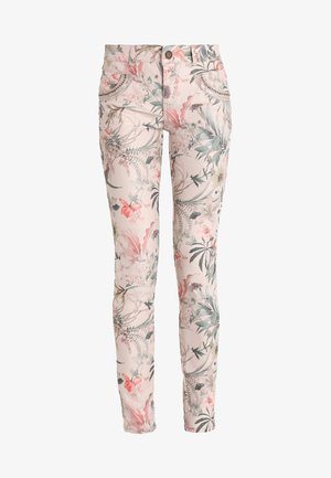 SHINE FLOWER PANT - Trousers - rose