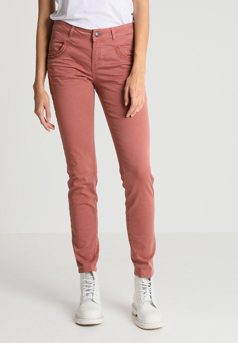 Mos Mosh - PHOENIX PANT - Trousers - marsala