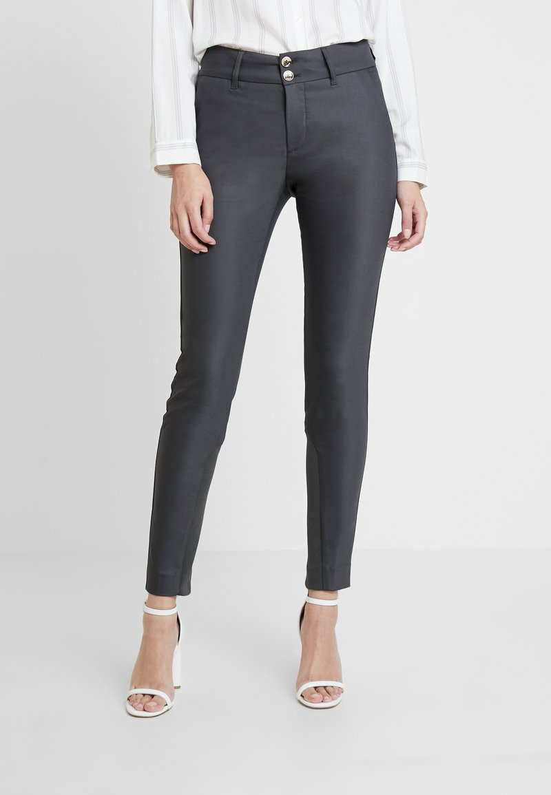Mos Mosh - BLAKE NIGHT PANT SUSTAINABLE - Bukse - antracite