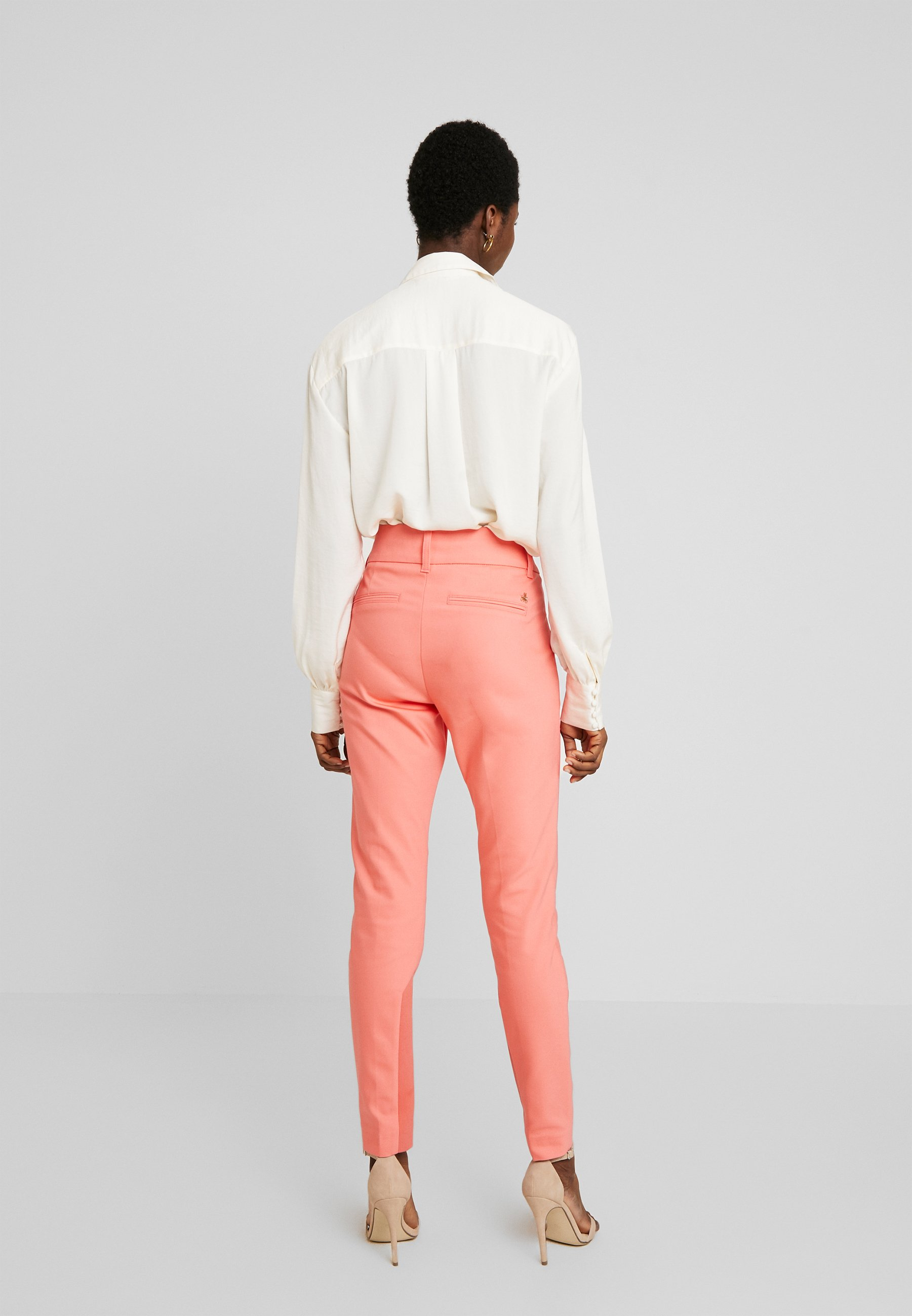 Mos Mosh Blake Night Pant Sustainable - Tygbyxor Sugar Coral