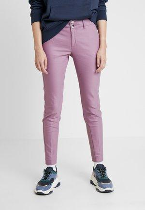 BLAKE NIGHT PANT SUSTAINABLE - Spodnie materiałowe - very grape
