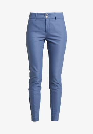 BLAKE NIGHT PANT SUSTAINABLE - Tygbyxor - indigo blue