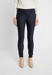 Mos Mosh - BLAKE NIGHT PANT SUSTAINABLE - Trousers - navy - 0