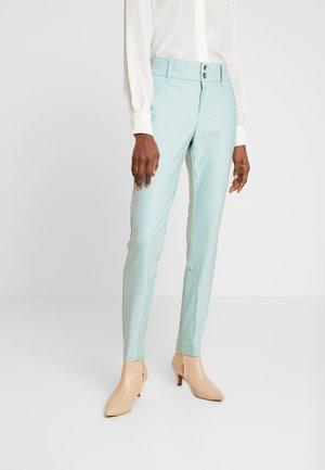 BLAKE NIGHT PANT SUSTAINABLE - Trousers - mint haze