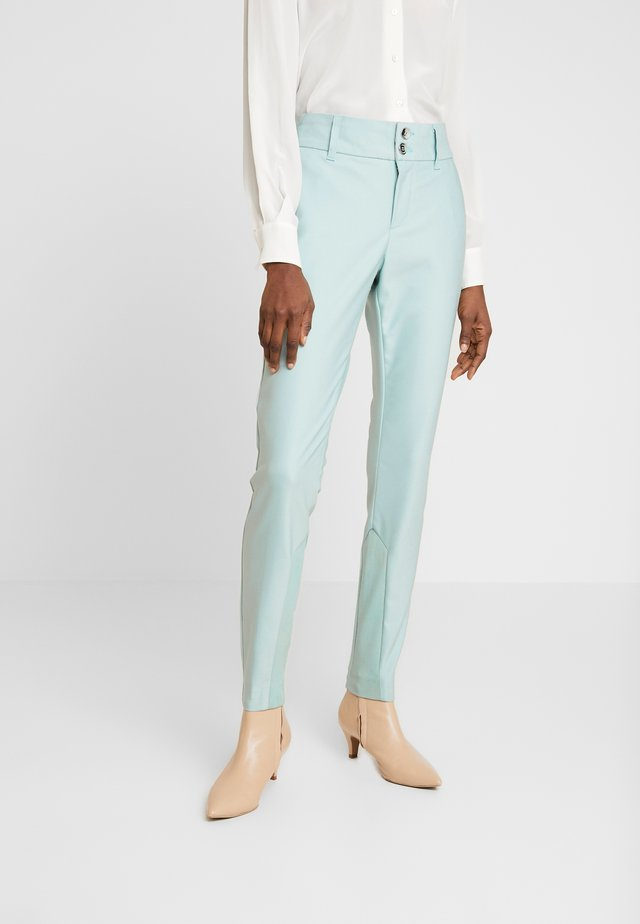 BLAKE NIGHT PANT SUSTAINABLE - Trousers - mint haze