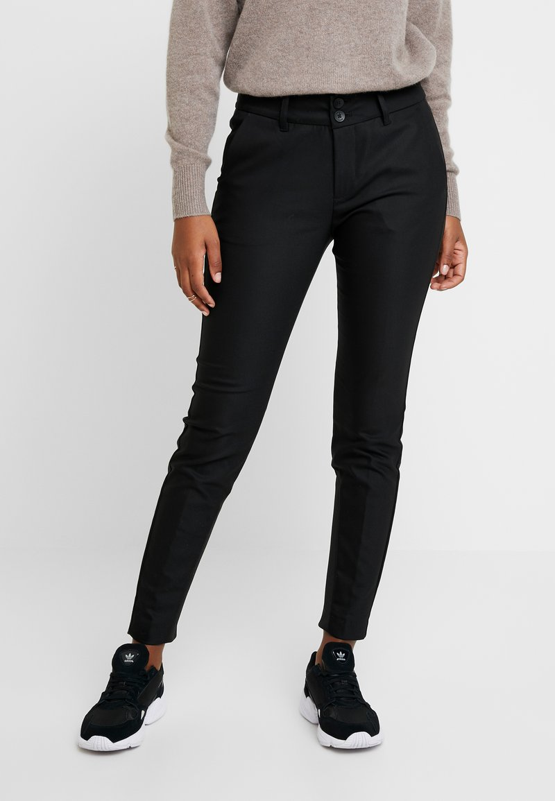 Mos Mosh - BLAKE NIGHT PANT SUSTAINABLE - Kalhoty - black