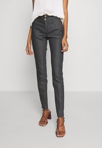 Mos Mosh - BLAKE NIGHT LONG PANT - Kalhoty - antracite - 0
