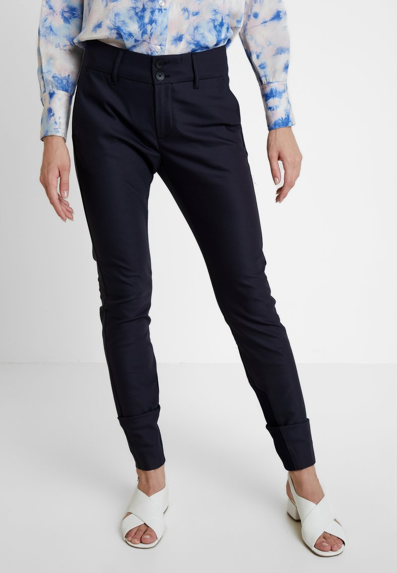 Mos Mosh - BLAKE NIGHT LONG PANT - Broek - navy