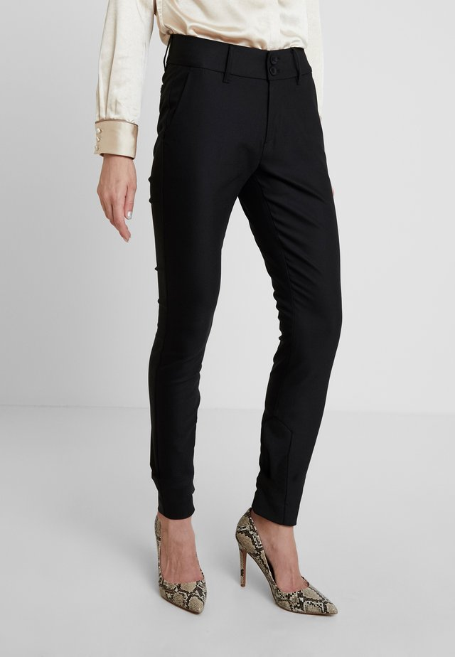 BLAKE NIGHT LONG PANT - Tygbyxor - black