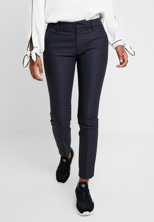ABBEY NIGHT PANT SUSTAINABLE - Trousers - navy