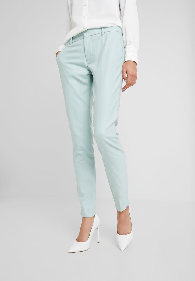 ABBEY NIGHT PANT SUSTAINABLE - Trousers - mint haze