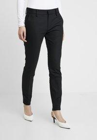 Mos Mosh - ABBEY NIGHT PANT SUSTAINABLE - Kalhoty - black - 0