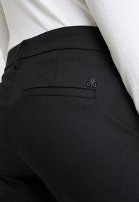 Mos Mosh - ABBEY NIGHT PANT SUSTAINABLE - Kalhoty - black - 4