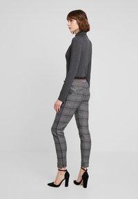 Mos Mosh - LEVON MILANO PANT - Kalhoty - black - 2