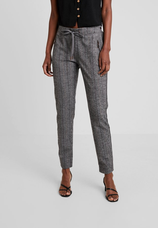 LEVON PANT - Trousers - grey melange