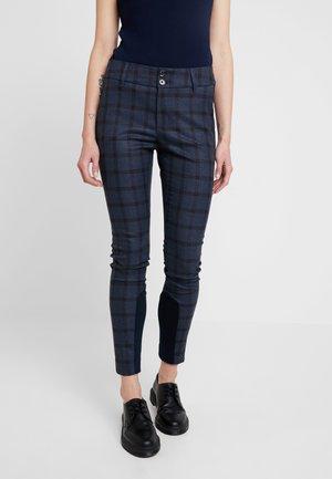 BLAKE CARLI PANT - Kalhoty - mood indigo melange