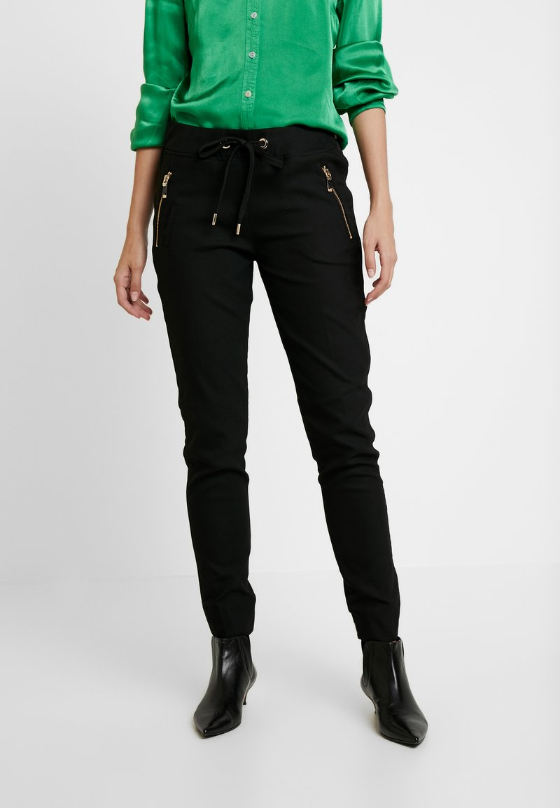 Mos Mosh - LEVON PORTMAN PANT - Trousers - black