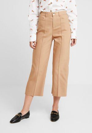 NIGHT PANT SUSTAINABLE - Tygbyxor - burro camel