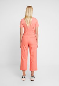 Mos Mosh - NIGHT PANT SUSTAINABLE - Trousers - sugar coral - 3