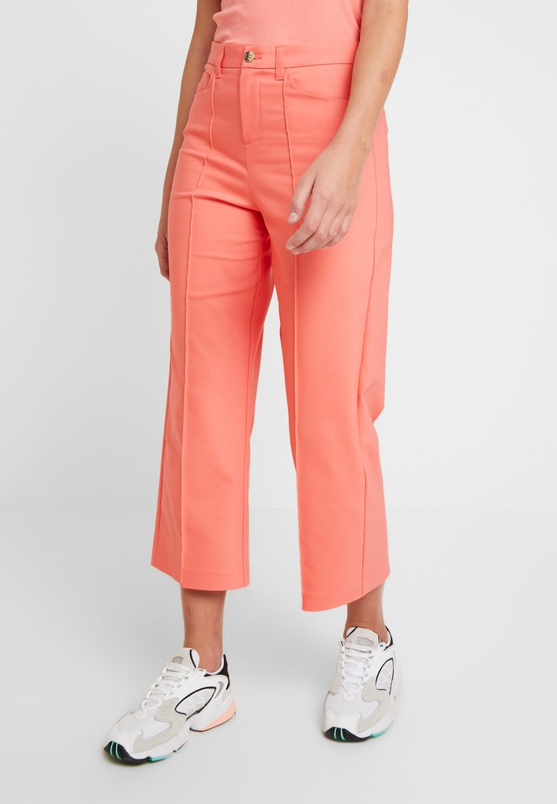 Mos Mosh - NIGHT PANT SUSTAINABLE - Trousers - sugar coral