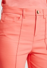 Mos Mosh - NIGHT PANT SUSTAINABLE - Trousers - sugar coral - 4