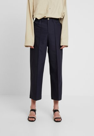 NIGHT PANT SUSTAINABLE - Trousers - navy