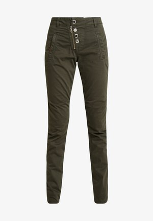 VALERINE DILLON CARGO PANT - Broek - forest night