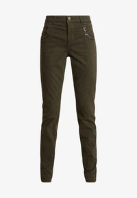 Mos Mosh - PANT - Trousers - forest night - 3